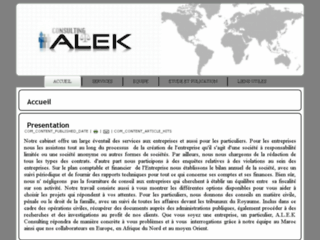 Alek consulting