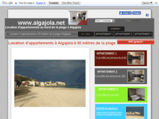 Algajola.net - Location d'appartements en bord de plage à Algajola en Balagne