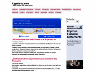 L'Algérie moderne avec algerie-dz