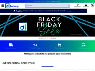 Détails : ventes de produits musulmans en ligne
