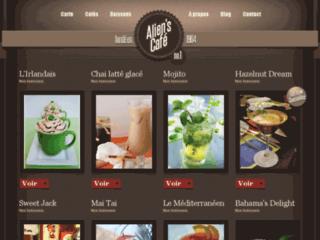 Aperçu du site Alien's Café