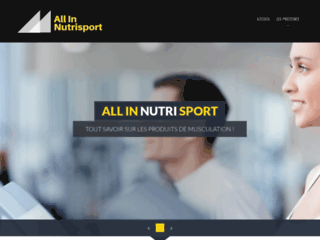 Détails : All in nutrisport