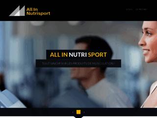 Détails : All in nutrisport