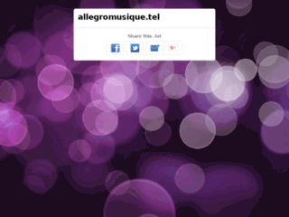 Détails : Avis Allegro musique