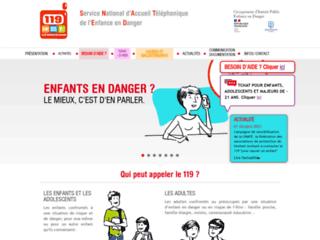 Service National d'Accueil Téléphonique de l'Enfance en Danger 119