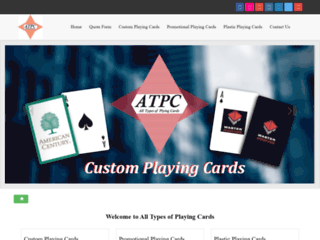 Custom Playing Card Manufacturer Company