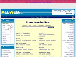 ALL WEB Free Directory. Script javascript e php.
