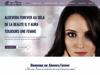Aloe vera au service de votre bien-être sur http://www.aloevera-forever.fr