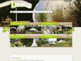 Eco‐Habitat en Vendée - A l'orée des chênes, Lieu de Ressourcement ecologique en Vendée