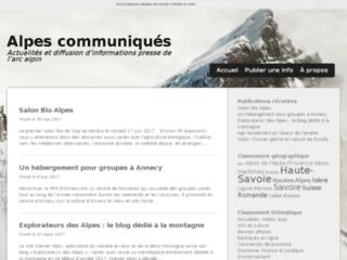 Alpes Communiqués