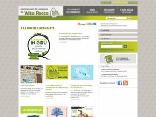 Communauté des Communes de l'Alta Rocca