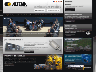 Aperçu du site Altema Drum