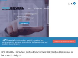 AMC Conseil - Consultant & Audit GED ou Gestion électronique Documentaire