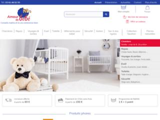 Amour de Bébé - Magasin en ligne de puericulture
