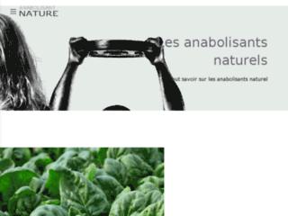 Anabolisant naturel