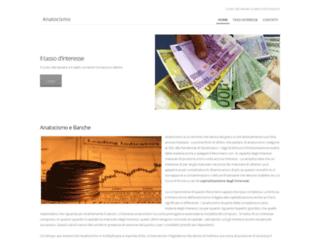 Info: Scheda e opinioni degli utenti :  Anatocismo Bancario - anatocismo.weebly.com