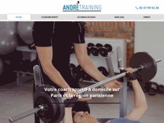 Coach sportif  Paris - andretraining