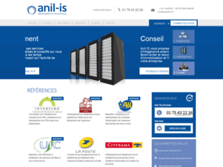 Capture du site http://www.anil-is.fr/