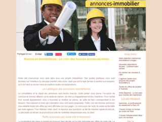Annonces Immobilier Org : Le gratuit de l'Annonce Immobilier