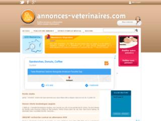 Annonces vétérinaires sur http://www.annonces-veterinaires.com