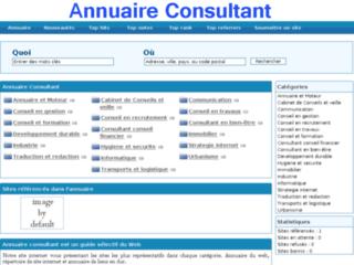Annuaire-Consultant.com - Le Guide Annuaire des cabinets de conseils sur internet