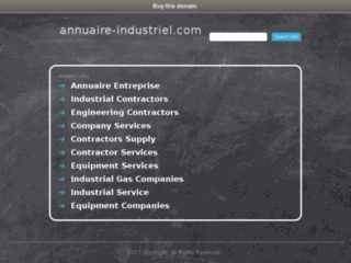 Annuaire-Industriel.com - Le Guide Annuaire de la l'Industrie sur internet.