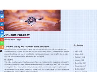 Annuaire du Podcasting et des Podcasts.