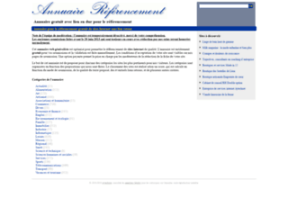 Annuaire referencement
