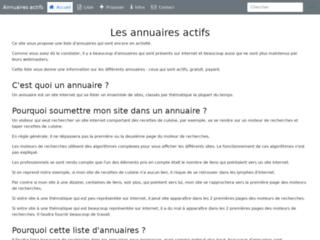 Détails : Des annuaires de référencement pour votre site