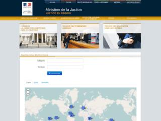 Annuaires et contacts du ministère de la justice