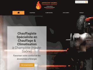 Anthony Morel Chauffage à Champlitte