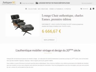 Détails : Antiques MC : vente de meubles et objets déco vintage