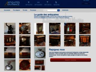 Antiquités en France: le guide des antiquaires et des brocantes