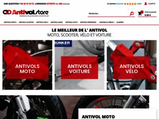 Antivols Moto Scooter et Voiture chez Antivol-store