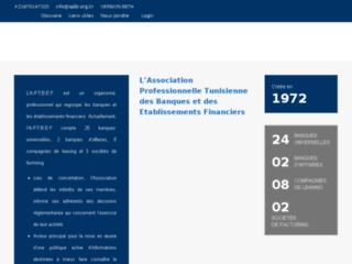 Association professionelle tunisienne des banques et des etablissements finaciers