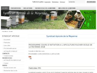 Syndicat Apicole de la Mayenne