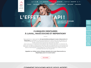 Dentiste Laval - Le Groupe dentaire API