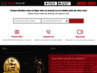 Détails : Rendez-vous en ligne avec les avocats et les notaires