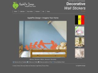 Adhésifs muraux - ApplePie Design