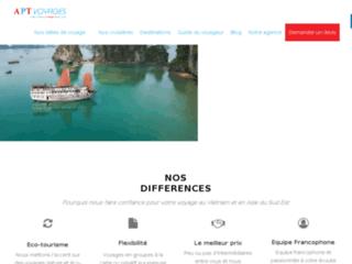 APT Voyages Agence de voyage francophone au Vietnam