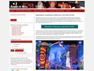 Aperçu du site Arbre de Noël