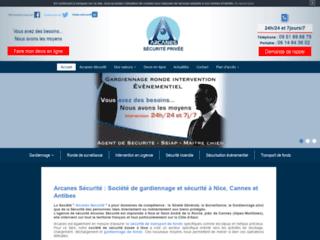 Société de sécurité et gardiennage Arcanes Protection à Nice