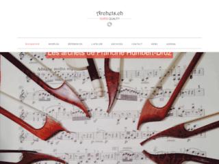Détails : Création d'archets pour violons, altos et violoncelles