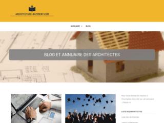 Architecture Bâtiment - Blog et annuaire des architectes