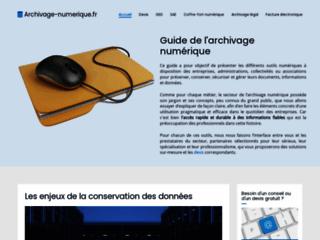 Détails : Archivage légal électronique et GED
