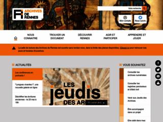 Archives municipales de Rennes - Site officiel