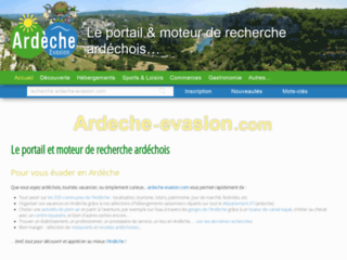 Ardèche évasion - vacances et week-end en ardeche
