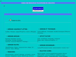 Ressources francophones de l'éducation sur http://www.arfe-cursus.com