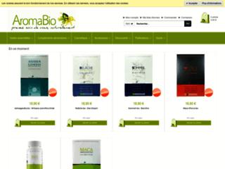 Aromabio : aromathérapie  sur http://www.aromabio.fr