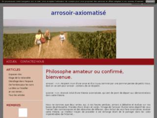 Arrosoir axiomatisé